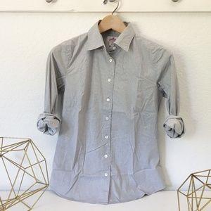 J.Crew Stretch Perfect-Shirt in Microdot
